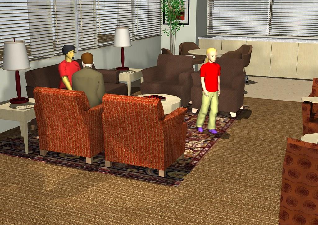 Ronald Mcdonald House Living Room