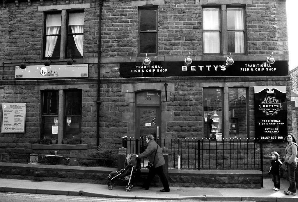 Betty 39 s traditional fish and chip shop big bozo flickr for Bettys fish and chips
