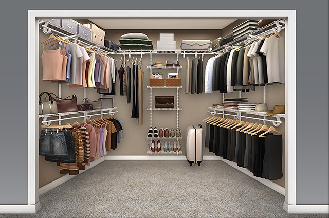 Wire Shelving For Closets
