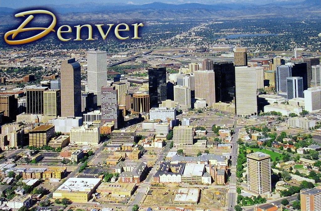 denver colorado postcard 2 the city and county of