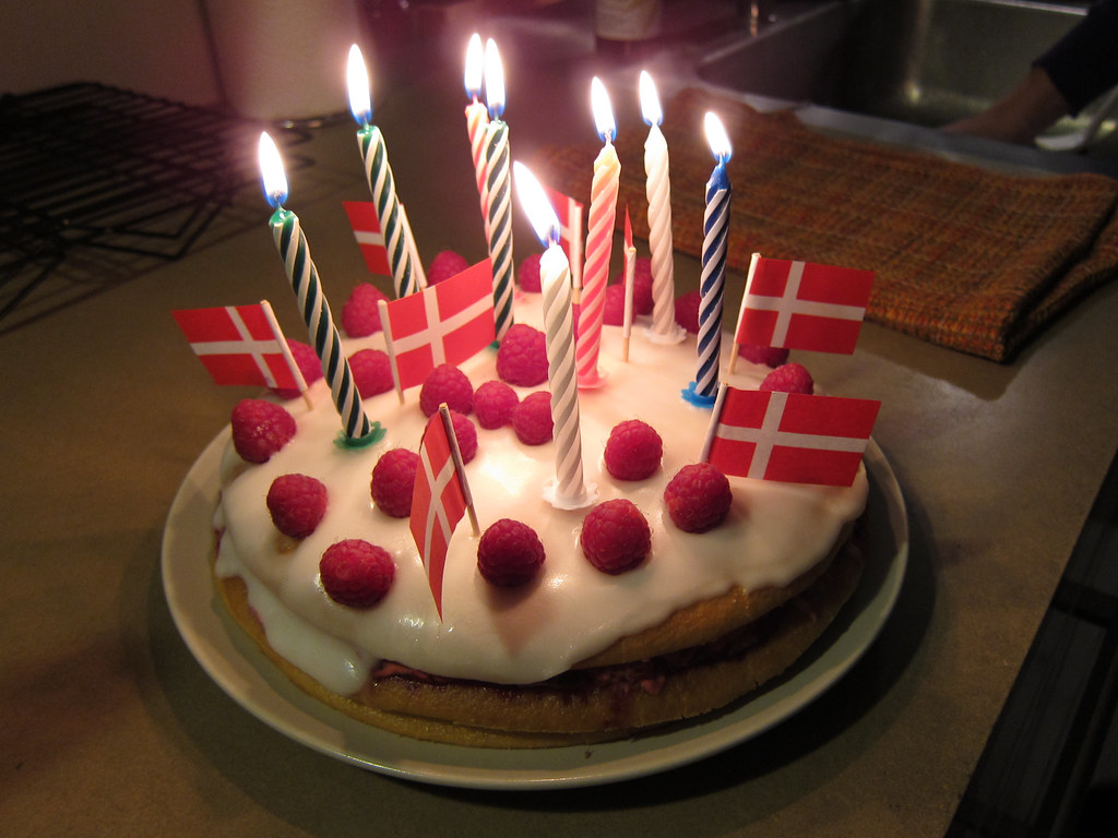 Classic Birthday Cake Recipe Butter Lemon Zest Fingers