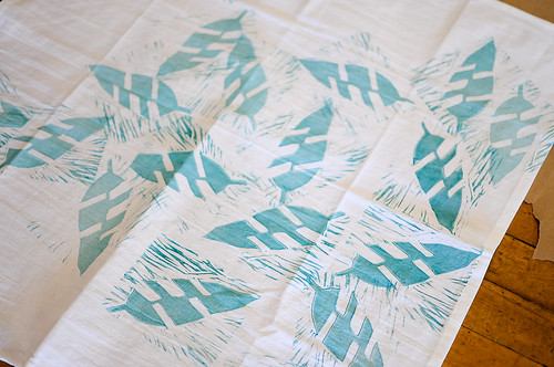 Block Printing with Lizzy House | by the workroom