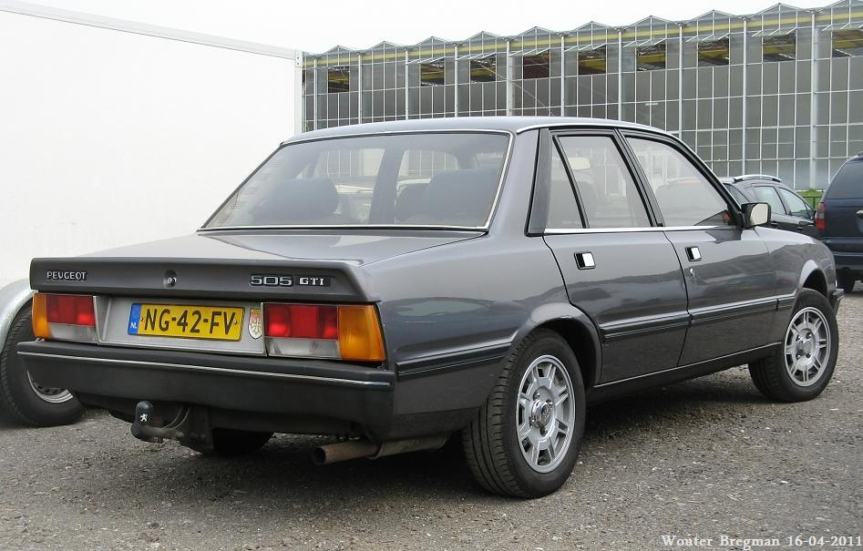 peugeot 505 gti automatic 1985 wouter bregman flickr. Black Bedroom Furniture Sets. Home Design Ideas