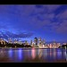 Brisbane from the base of the Kangaroo Point Cliffs