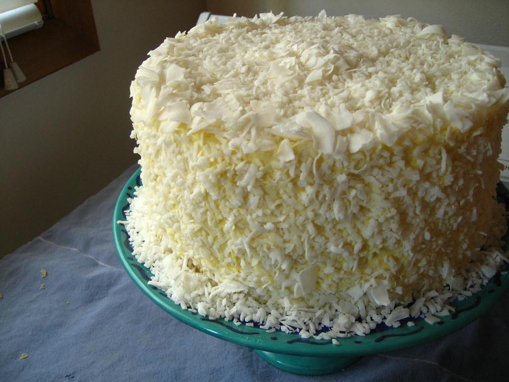 Southern Coconut Cake Paula Deen
