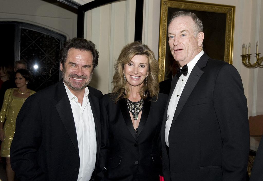 Carolyn Ali Espley dennis miller, his wife ali espley, and bill o'reilly | flickr