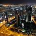 Dubai by Night from the Burj Khalifa #1