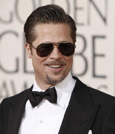 brad pitt dark sunglasses i always believe that if a man c flickr. Black Bedroom Furniture Sets. Home Design Ideas