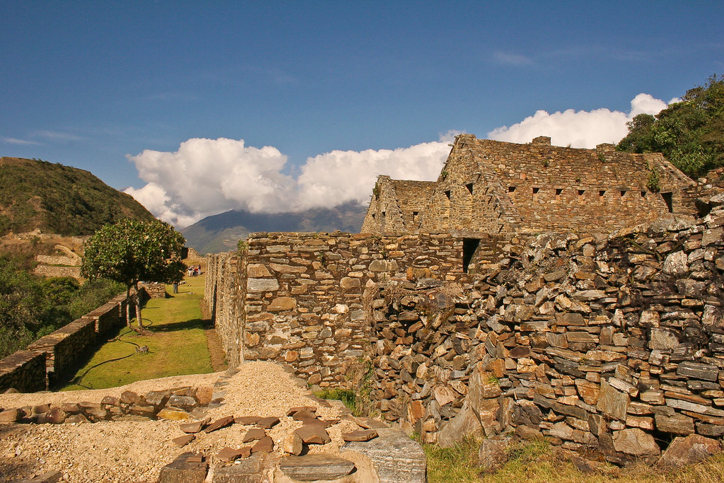 Choquequirao, most remote Inca ruins in the Peruvian Andes