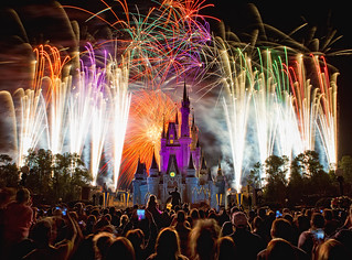 Magic Kingdom - Fireworks Friday | by Cory Disbrow