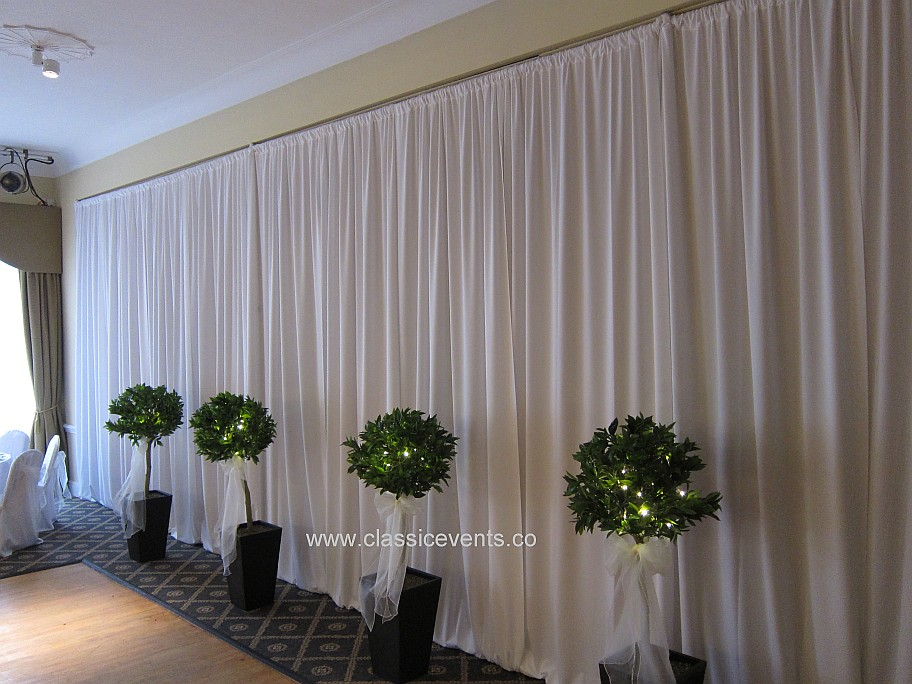 Classic Events Wedding Venue Draping And Decoration At The