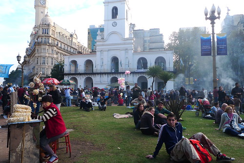 May Revolution Day, Plaza de Mayo, Buenos Aires, Argentina | by foodieguide