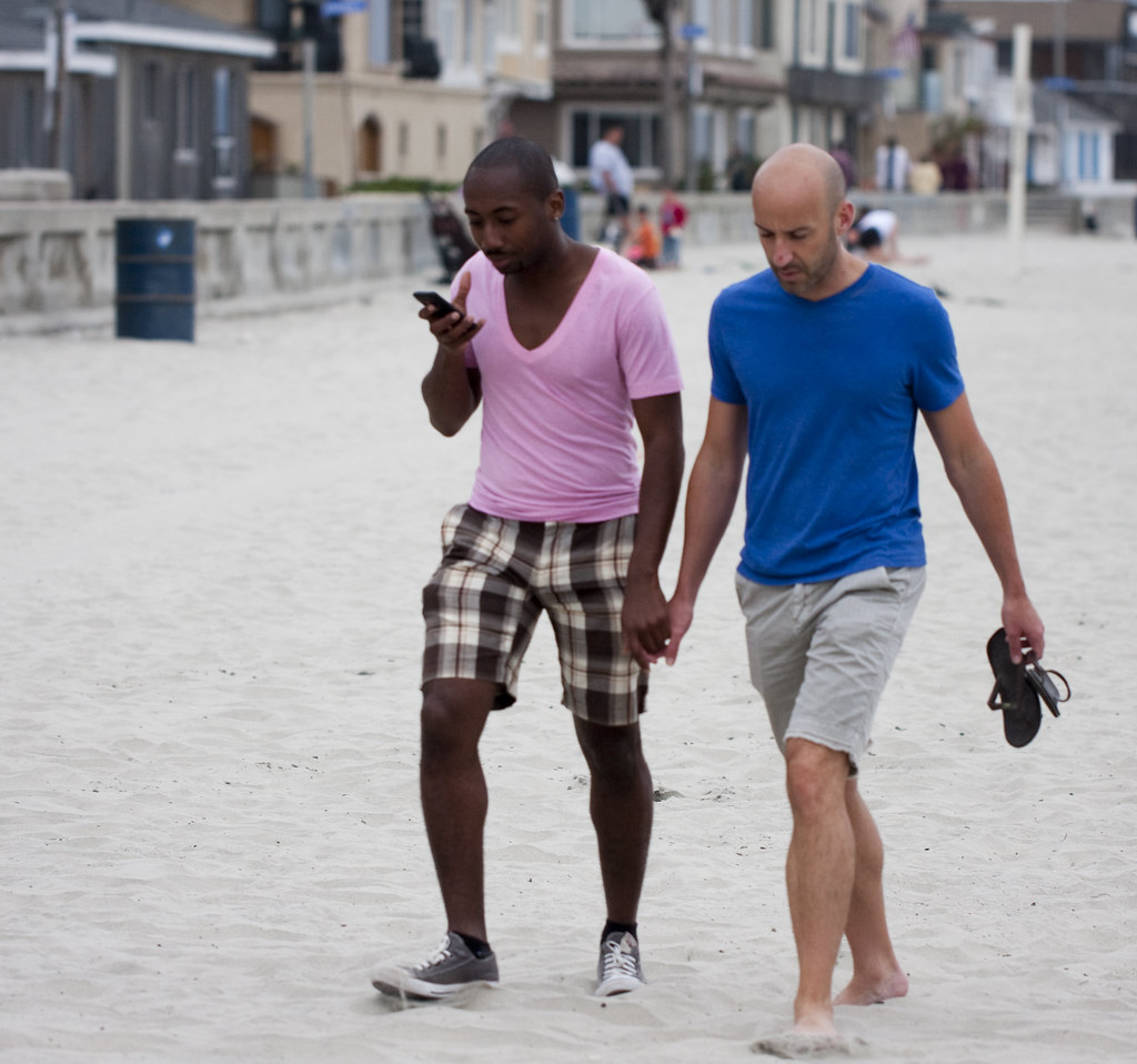 Gay Couple Holding Hands 23