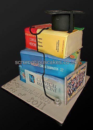 Celebration Cake 736 Graduation Cake The Medical