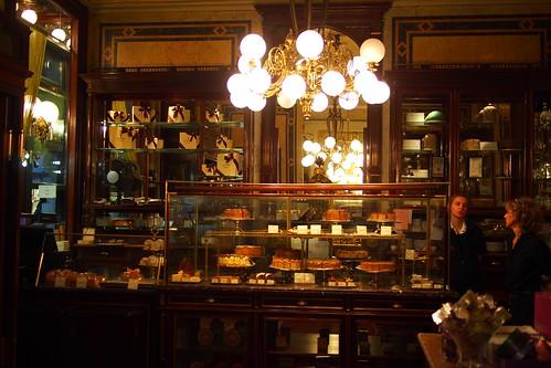 Demel Kaffeehaus, Kohlmarket, Wien, Vienna, Austria
