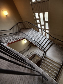 Kroeber Stairwell From Above