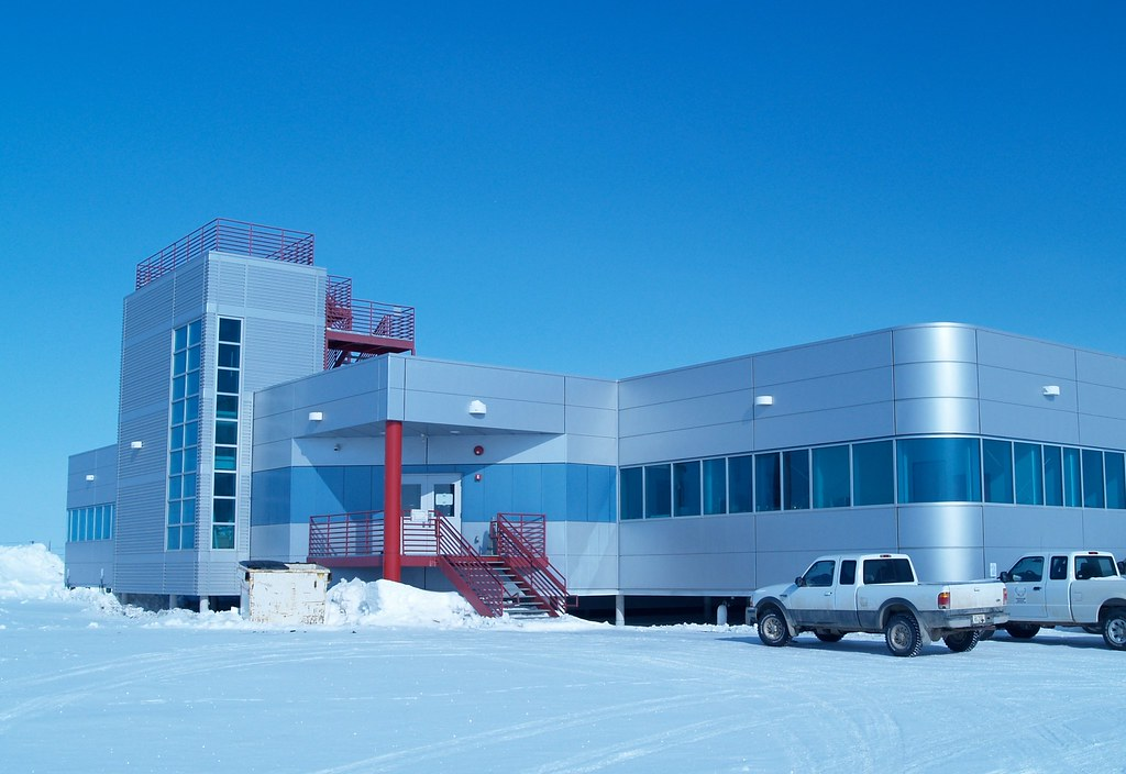 Barrow Arctic Research Center A Crystal Clear Day Shines