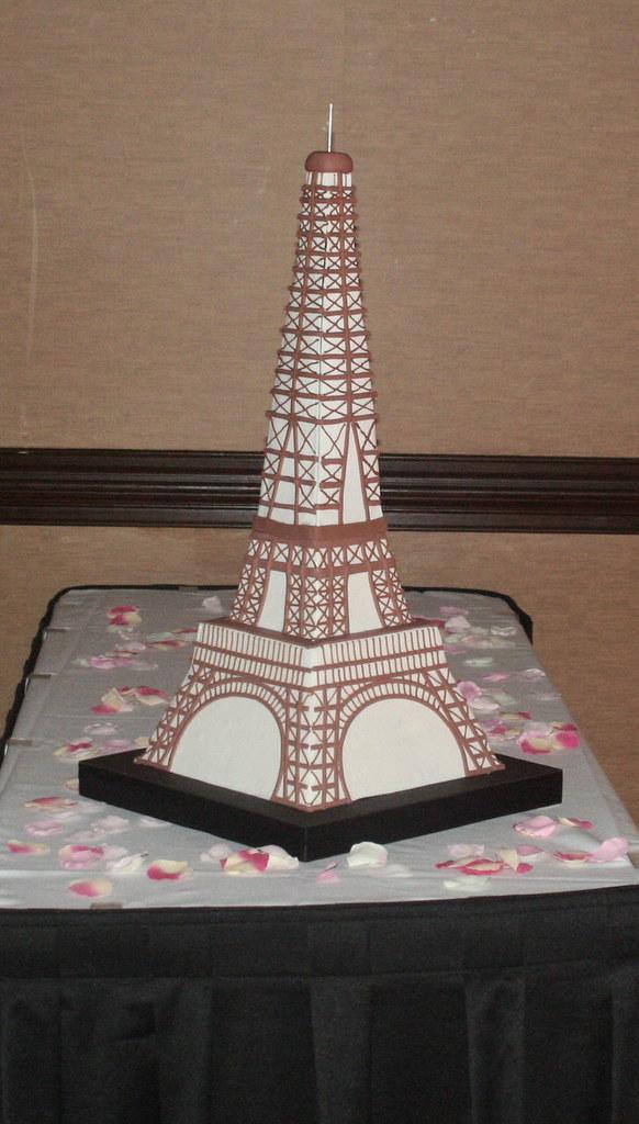 Eiffel Tower Cake 32 Eiffel Tower Cake for Wake Forest Ro Flickr