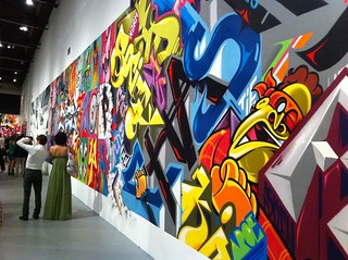 Graffiti Wall at the Art in the Streets show at the MOCA | by ricardodiaz11