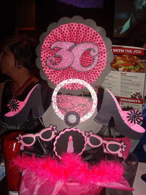 30th Birthday-Centerpieces | Flickr - Photo Sharing!