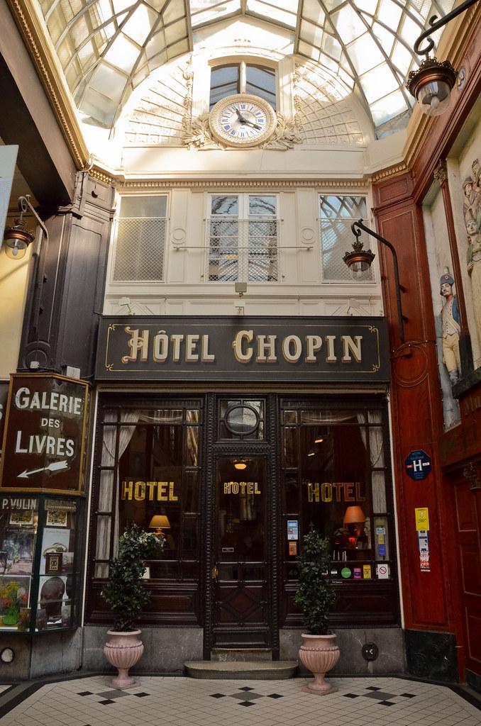 L 39 H Tel Chopin Passage Jouffroy Paris 9 Me Et Si On Se