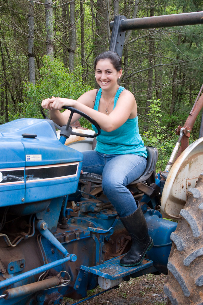Farm Girls Love Their Tractors! | My sister Marissa and ...