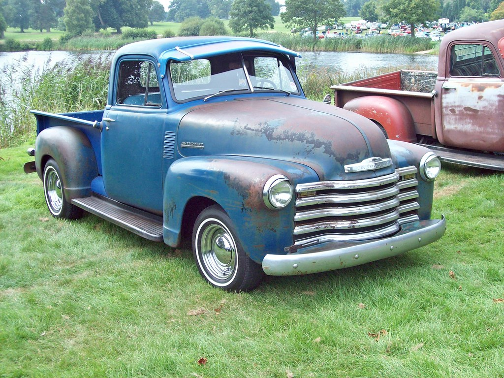 236 chevrolet advance design pick up 1947 54 chevrolet a flickr. Black Bedroom Furniture Sets. Home Design Ideas