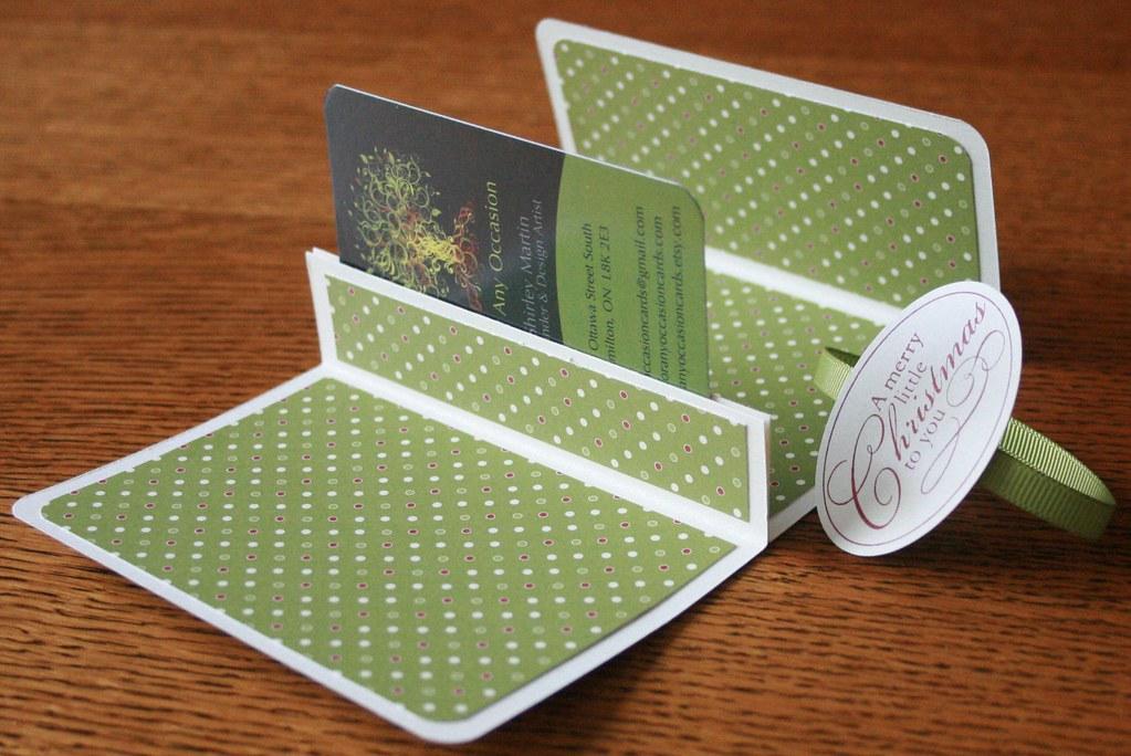Handmade Christmas Gift Card Holder  Shirley  Flickr
