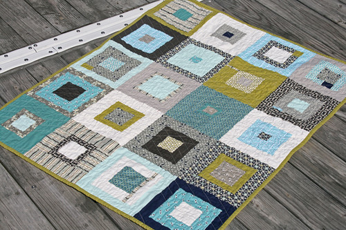 manly baby quilt | by filminthefridge