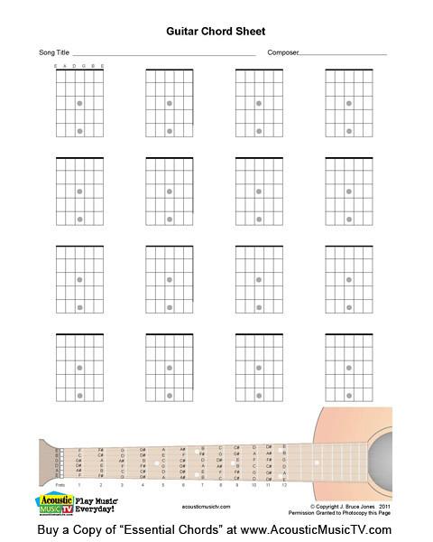 Essentia Chords, Guitar Blank Chord Boxes | Blank Guitar Cho… | Flickr