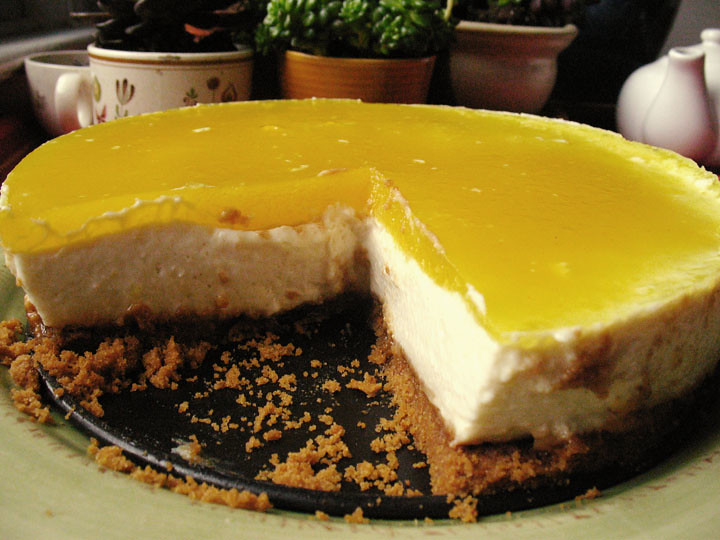 Vegan Lemon Mousse Pie | Flickr - Photo Sharing!