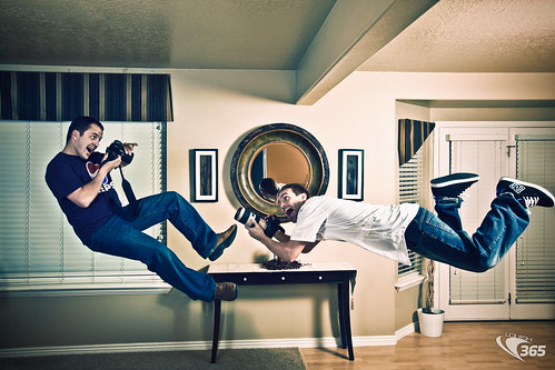 Photographer Levitation 096/365 [explore #458] | by Louish Pixel