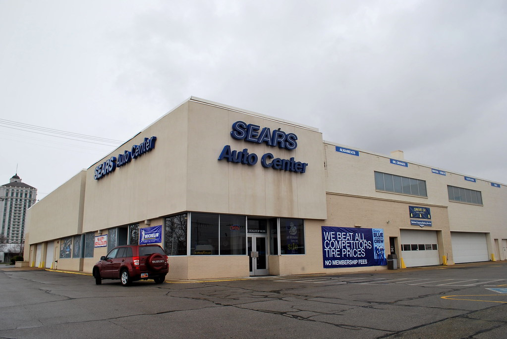 downtown salt lake sears auto center west side main entran. Black Bedroom Furniture Sets. Home Design Ideas