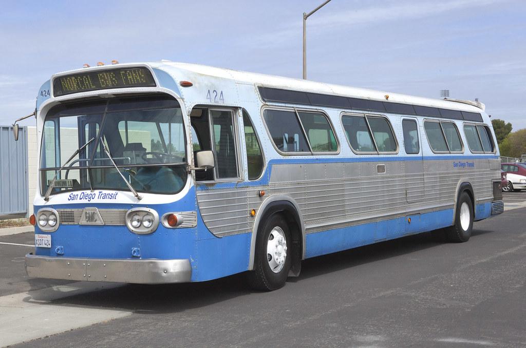 San Diego Transit 1972 Gmc Bus San Diego Transit 1972