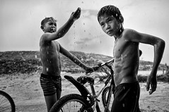 Steung Meanchey, Phnom Penh - Day 1's downpour! by Mio Cade