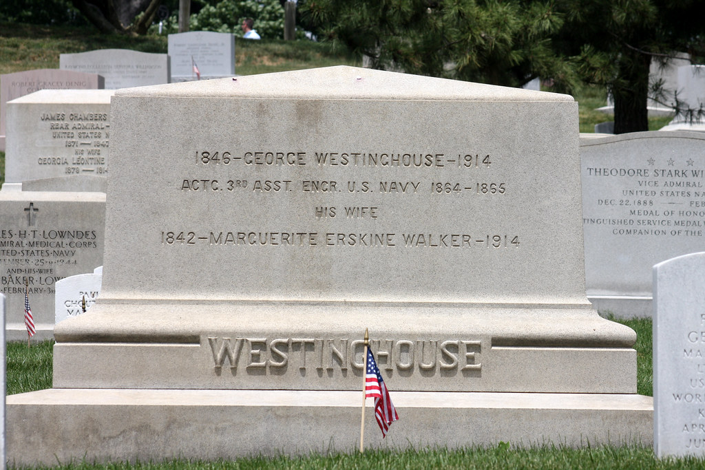 Arlington National Cemetery Grave Of George Westinghouse F