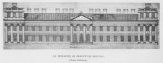 Royal Hospital Greenwich: Elevation | by Penn State Libraries Pictures Collection