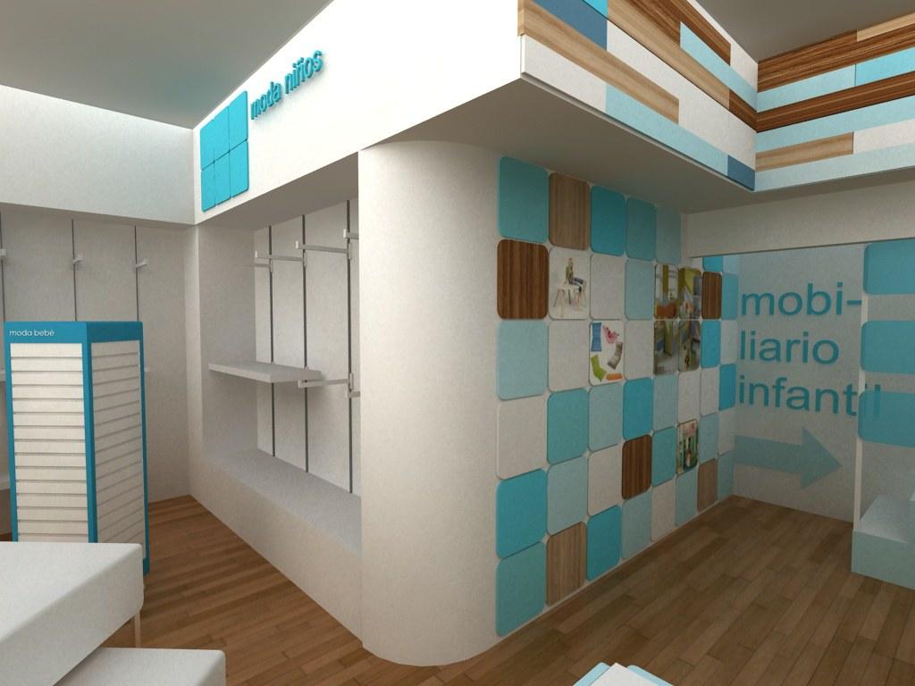 Dise o de espacios comerciales concepto fabricacion de m for Mobiliario de diseno