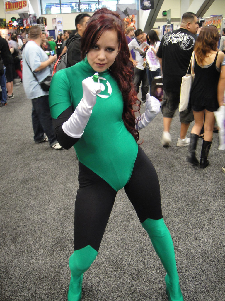 WonderCon 2011 - female Green Lantern | The Conmunity ...
