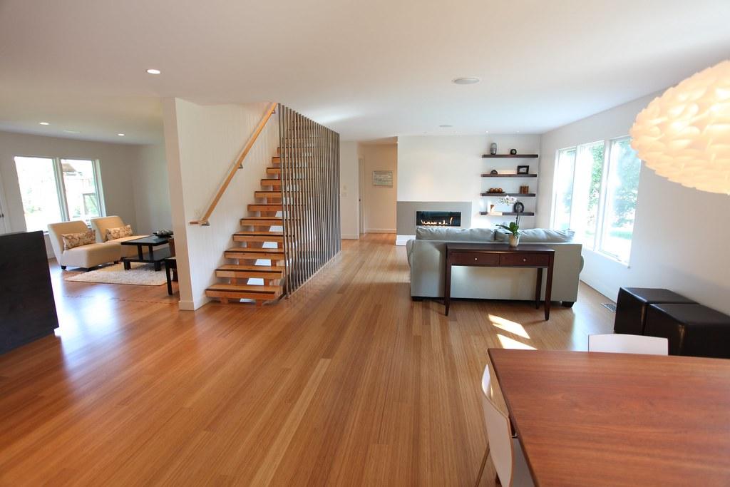 Modern Living Room Remodel After We Remodeled The