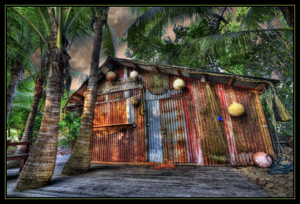 ... Shack HDR | Herbies Beach Shack. Thala Beach Lodge, Po… | Flickr