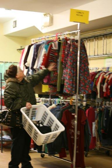 St john clothing store