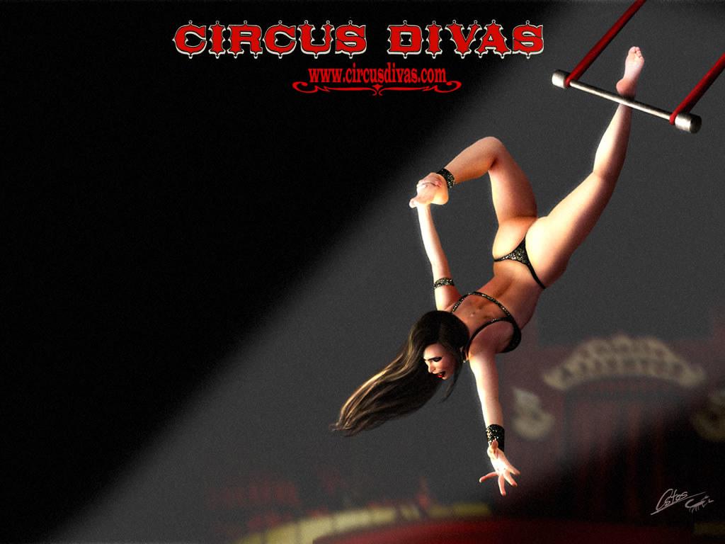 La Viuda Negra | Wallpaper of trapeze artist doing a ...