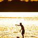 Standup Paddleboarding. Sarasota Bay, Florida