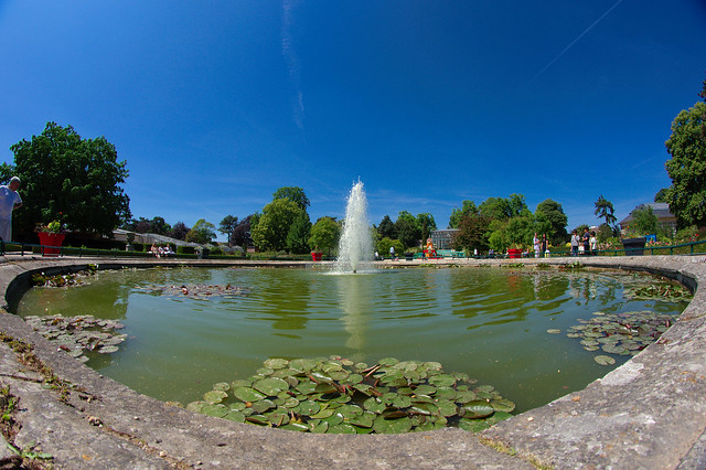 Fontaine du jardin des plantes  Flickr - Photo Sharing!