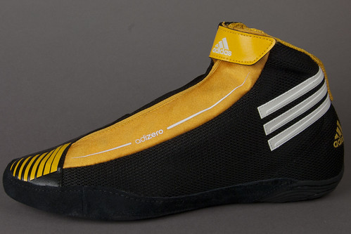 adidas Black Gold adizero Wrestling Shoes View 17 | by wrestlinggear