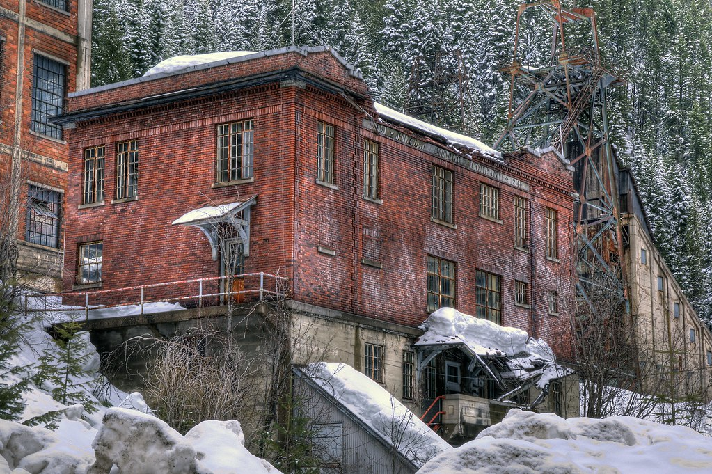 Hecla Mine Ruins Burke Idaho Dave Dahnke Flickr