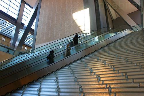 Hearst Tower Leed Hearst Tower Foyer Escalator