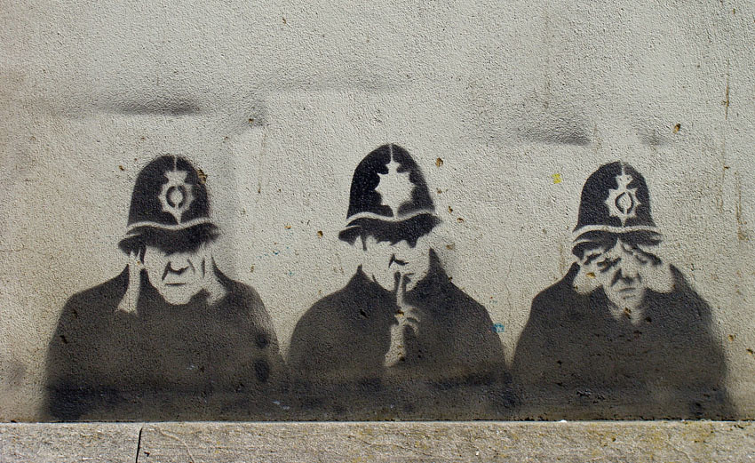 Police Graffiti Easton Has Some Great Graffiti Kirsty