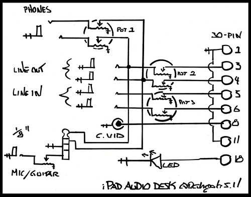iPad Audio Desk Schematic | by moonbear3325